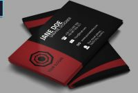 Cool Creative Business Card  Psd  Photoshop Tutorial intended for Visiting Card Templates For Photoshop