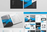 Cool Indesign Annual Corporate Report Template  Report Indesign regarding Free Annual Report Template Indesign