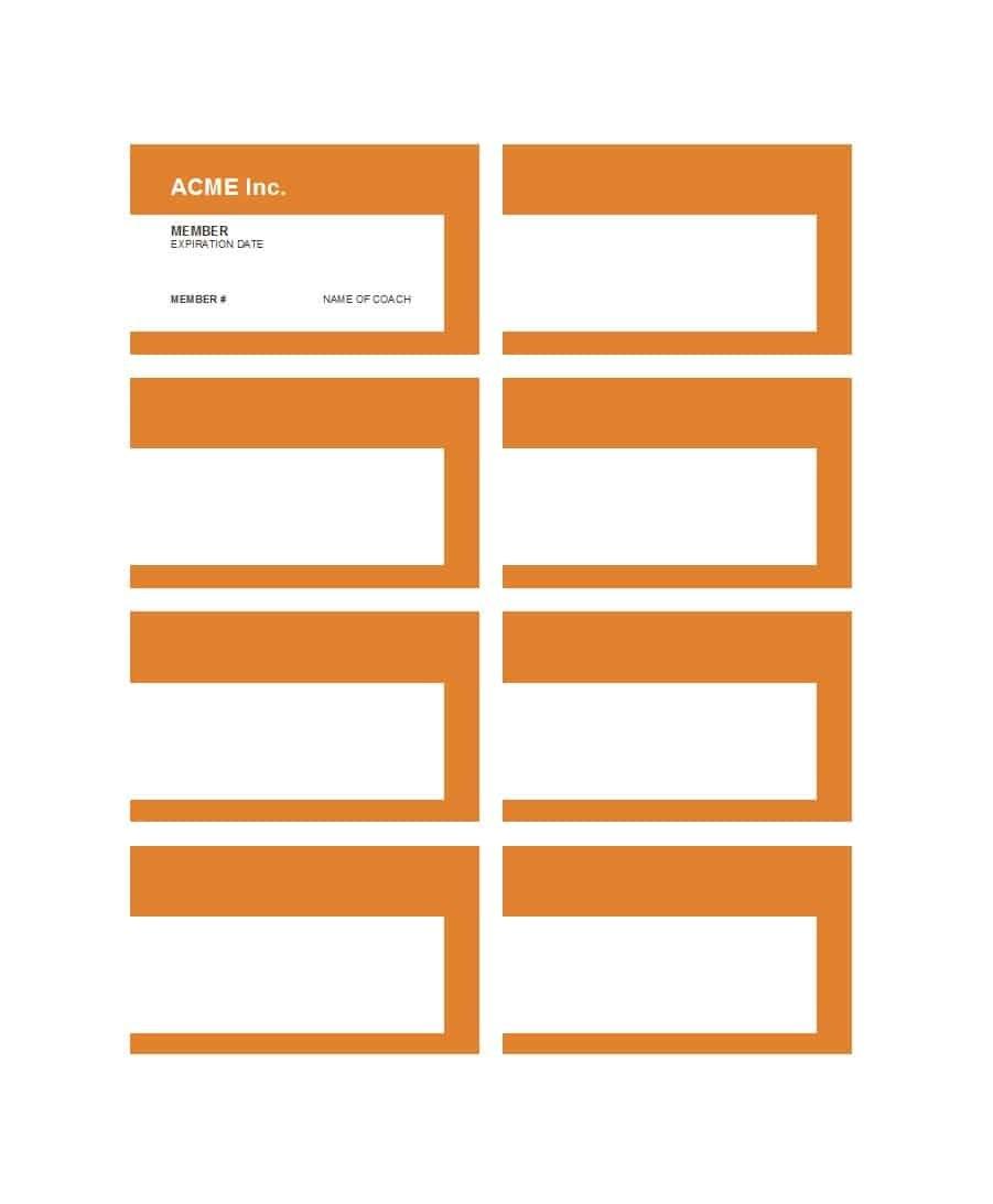 Cool Membership Card Templates  Designs Ms Word ᐅ Template Lab Inside Membership Card Template Free