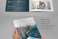 Corporate Bifold Brochure Template Indesign Indd • A  Us Letter pertaining to Letter Size Brochure Template