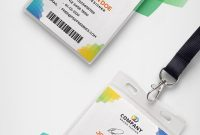 Corporate Branding Identity Card Free Psd  Psd Print Template In Media Id Card Templates