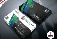 Corporate Business Card Design Templates Psdpsd Freebies On Dribbble within Visiting Card Templates For Photoshop