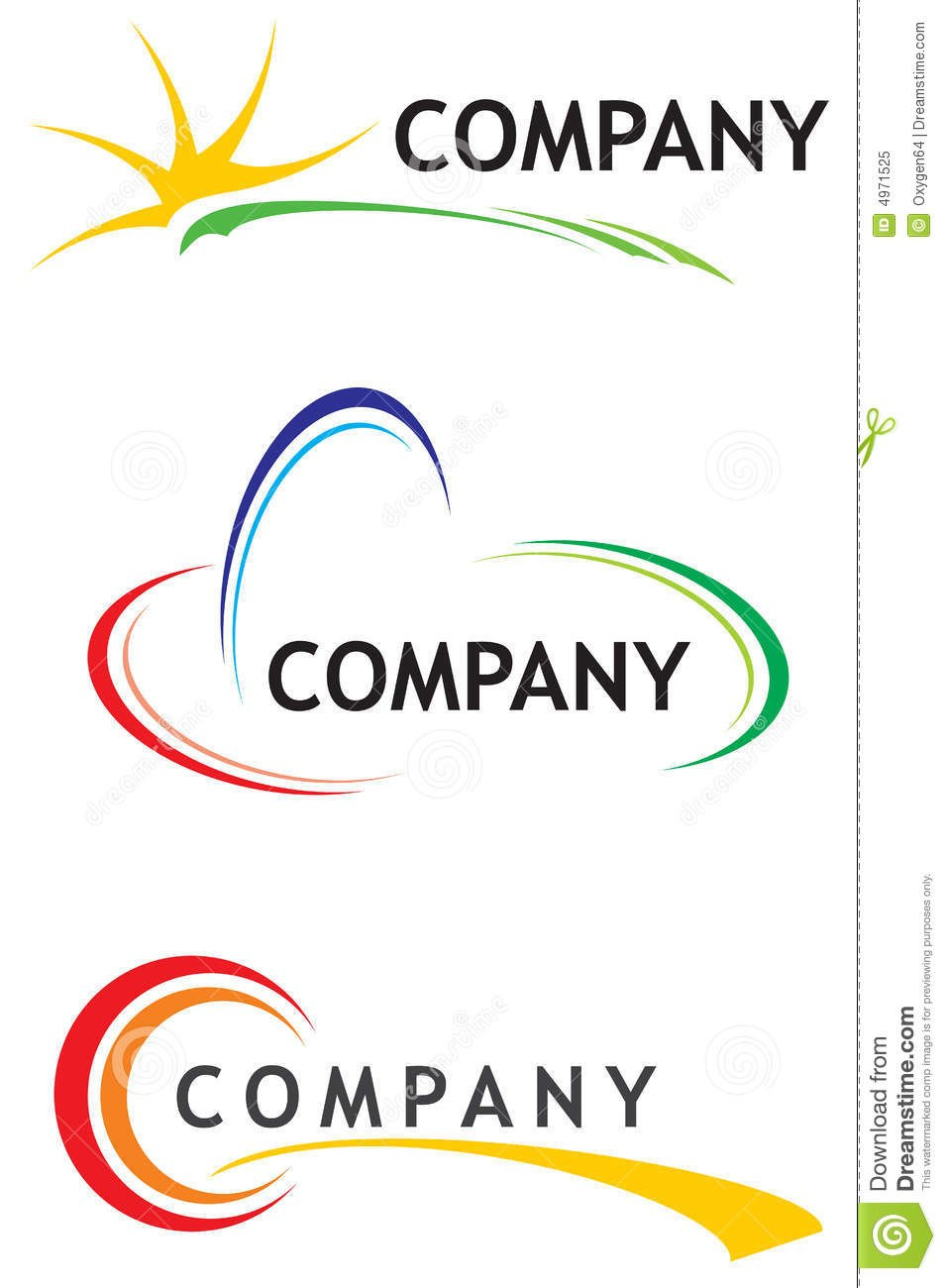 Corporate Logo Templates Stock Vector Illustration Of Icon In Business Logo Templates Free Download