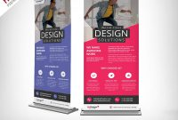 Corporate Outdoor Rollup Banner Free Psd  Psdfreebies throughout Outdoor Banner Template