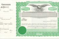 Corporate Stock Certificates Template Free Filename – Guatemalago in Corporate Share Certificate Template