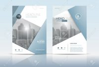 Cover Design Template Annual Report Cover Flyer Presentation throughout Cover Page For Annual Report Template