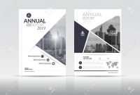 Cover Design Template Annual Report Cover Flyer Presentation with regard to Cover Page For Annual Report Template
