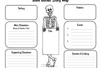 Crafty Symmetric Skeletons  Scholastic Within Story Skeleton Book Report Template