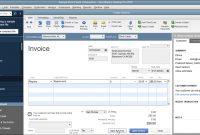 Create An Invoice In Quickbooks Desktop Pro Instructions with Create Invoice Template Quickbooks
