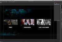 Create Blu Ray Menu With Adobe Photoshop For Encore  Youtube throughout Adobe Encore Menu Templates
