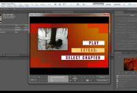 Create Dvd Menu With Adobe Encore  Youtube within Adobe Encore Menu Templates
