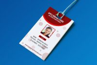Create Professional Id Card Template  Photoshop Tutorial  Youtube inside Id Card Design Template Psd Free Download