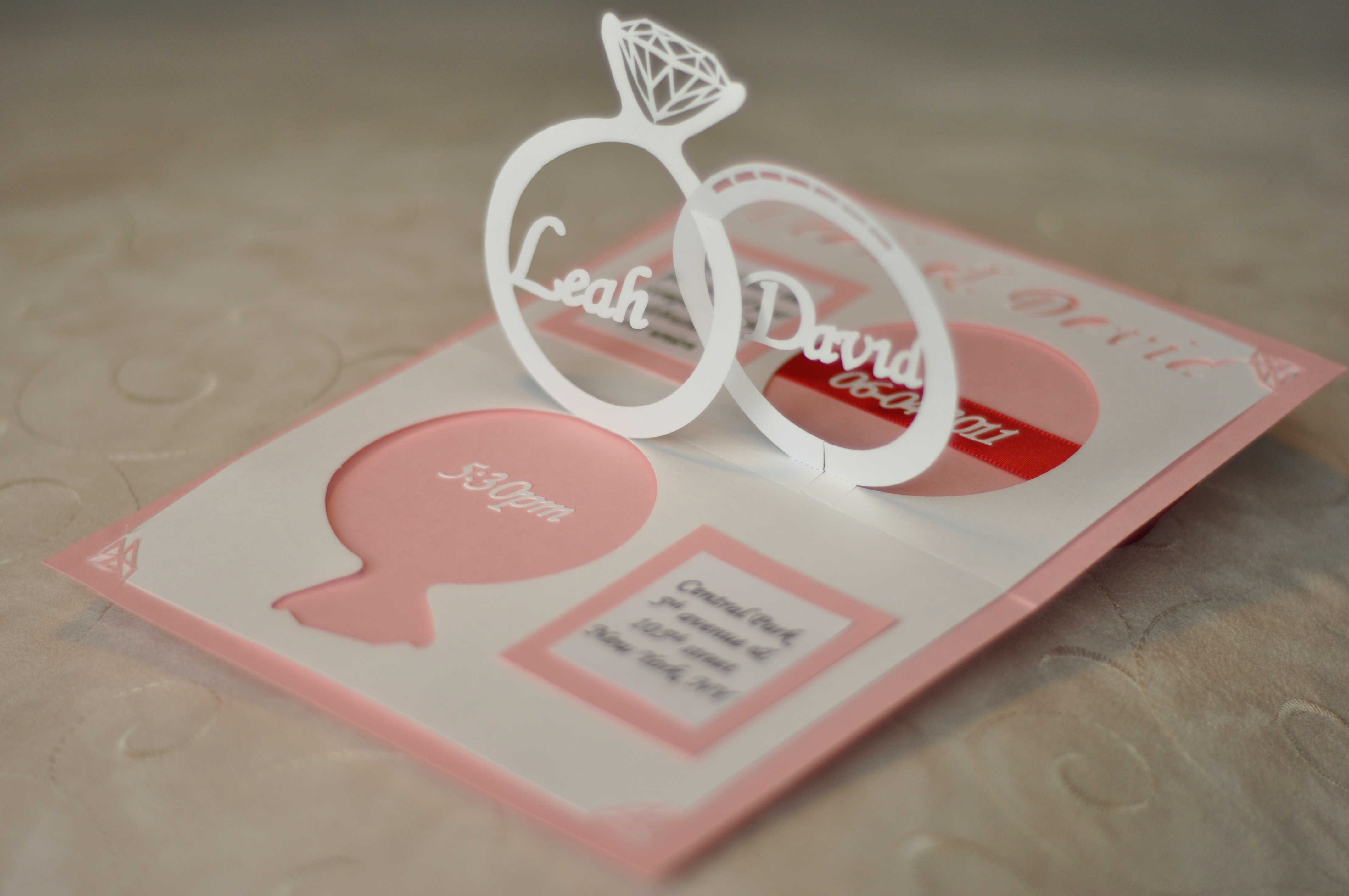 Create Your Own Wedding Invitation Pop Up Template Templates Intended For Pop Up Wedding Card Template Free