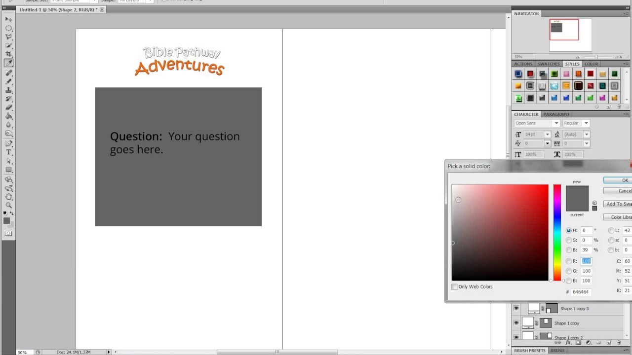 Creating A Flash Card Template In Photoshop For With Queue Cards Template