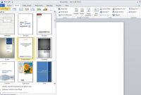 Creating A Title Page  Scroll Office pertaining to Word Title Page Templates