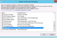 Creating A Vsphere  Certificate Template In Active Directory  Blah with regard to Workstation Authentication Certificate Template