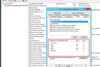 Creating The Certificate Templates intended for Active Directory Certificate Templates
