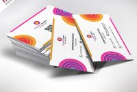 Creative And Colorful Business Card Free Psd  Psdfreebies with regard to Unique Business Card Templates Free
