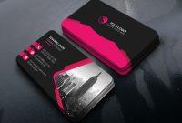 Creative Business Card Free Psd Template  Download Psd regarding Psd Name Card Template
