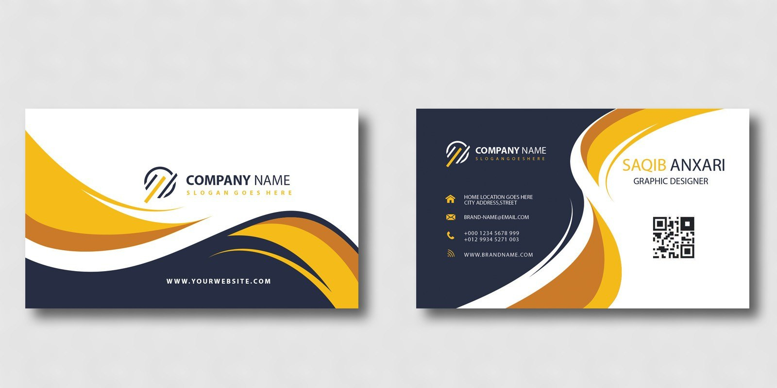 Creative Business Card Template  Codester Pertaining To Buisness Card Template