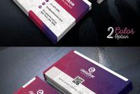 Creative Business Card Template Psd Set  Psdfreebies inside Unique Business Card Templates Free