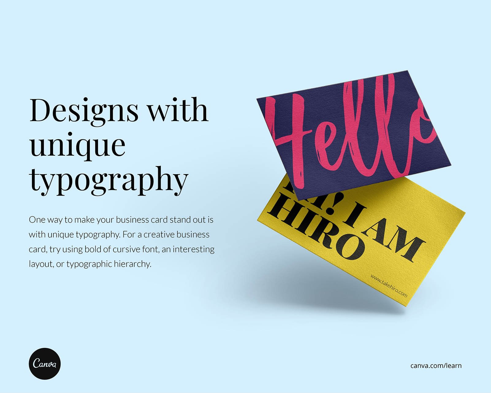 Creative Business Cards Ideas And How To Get The Look – Learn Inside Web Design Business Cards Templates
