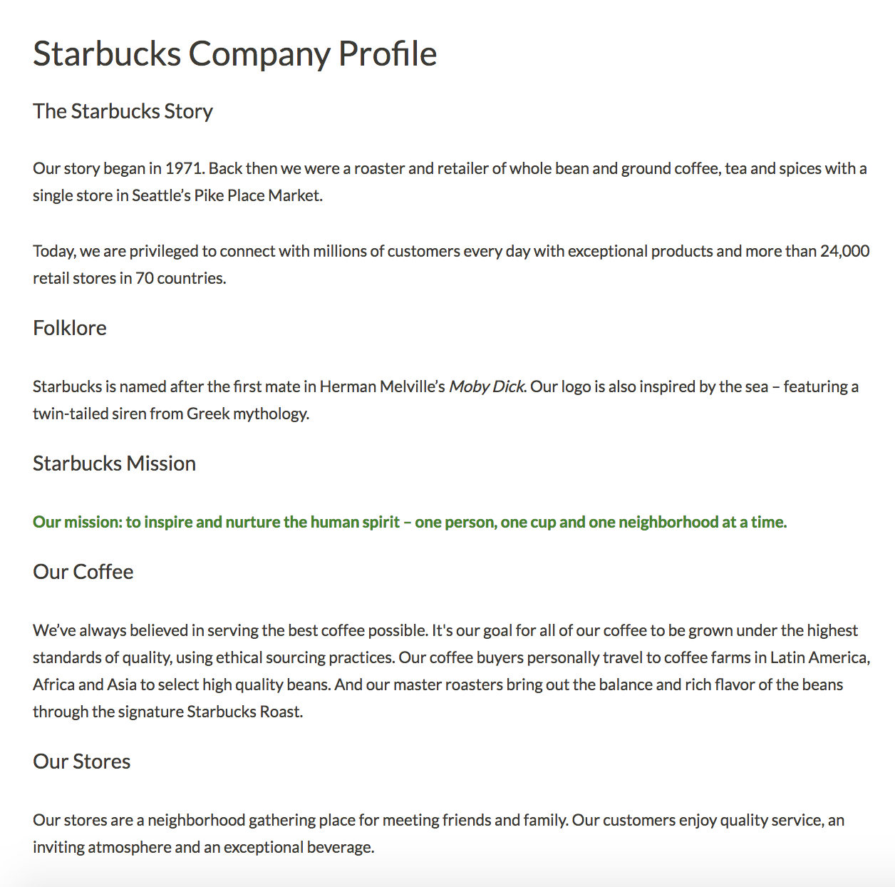 Creative Company Profile Examples To Inspire Your Own In Simple Business Profile Template
