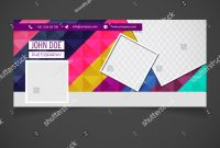 Creative Photography Banner Template Place Image Stockvektorgrafik with regard to Photography Banner Template