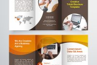 Creative Trifold Brochure Template  Color Styles Corporate within Zoo Brochure Template