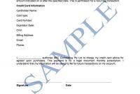 Credit Card Authorisation Form  Free Template  Sample  Lawpath inside Credit Card Authorisation Form Template Australia