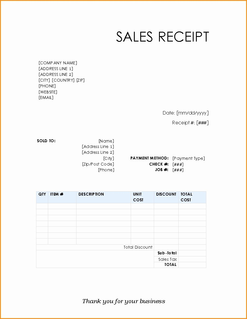 Credit Card Invoice Template – Wfacca Intended For Credit Card Receipt Template