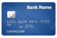 Credit Card Template  Psdgraphics for Credit Card Template For Kids