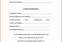 Credit Cardzation Form Template Free Word Quickbooks inside Credit Card On File Form Templates