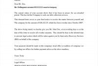 Creditor Cease And Desist Letter Template Sample regarding Legal Debt Collection Letter Template