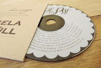 Custom Cddvd Label Template For Printing On Your Own  Wedding with Fellowes Neato Cd Label Template