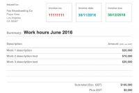 Custom Design Google Doc Invoice Theme  Xfive inside Google Drive Invoice Template