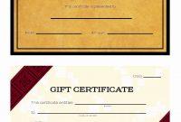 Custom Gift Certificate Template Inspirational Cool Design Of with Custom Gift Certificate Template
