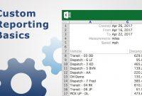 Custom Reporting Basics  Fleet Management  Youtube for Fleet Management Report Template