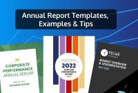 Customizable Annual Report Design Templates Examples  Tips throughout Annual Financial Report Template Word