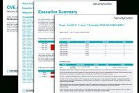 Cve Analysis Report  Sc Report Template  Tenable® regarding Information Security Report Template