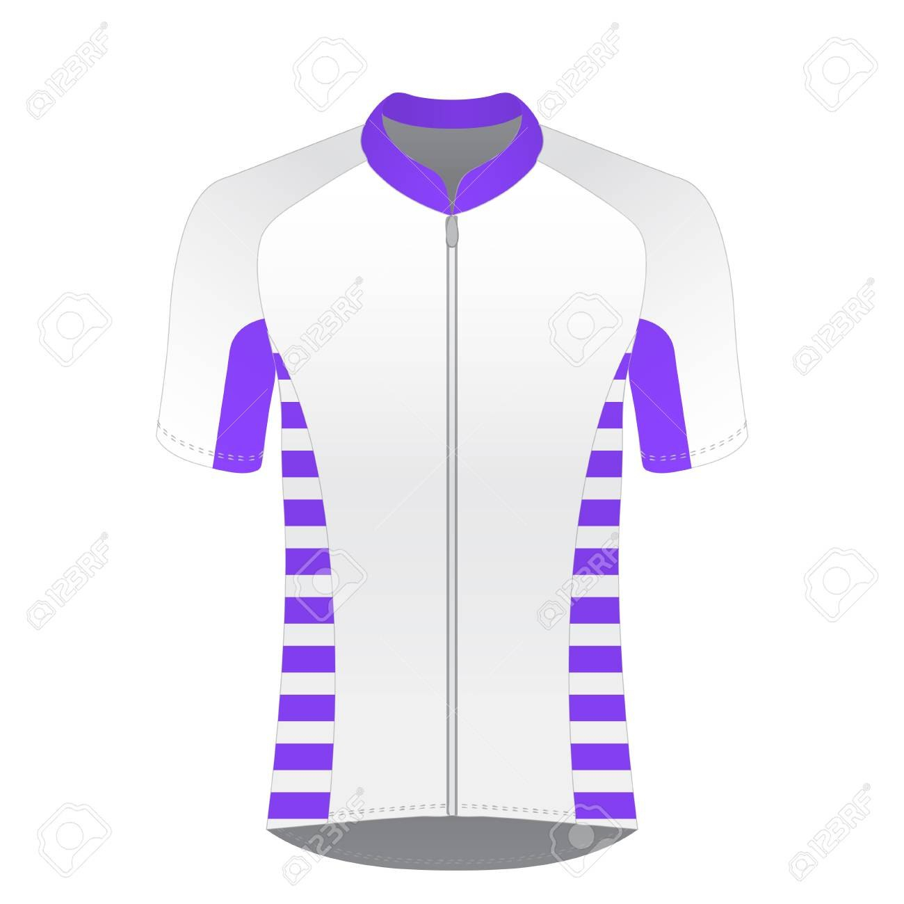Cycling Jersey Mockup Tshirt Sport Design Template Road Racing Throughout Blank Cycling Jersey Template