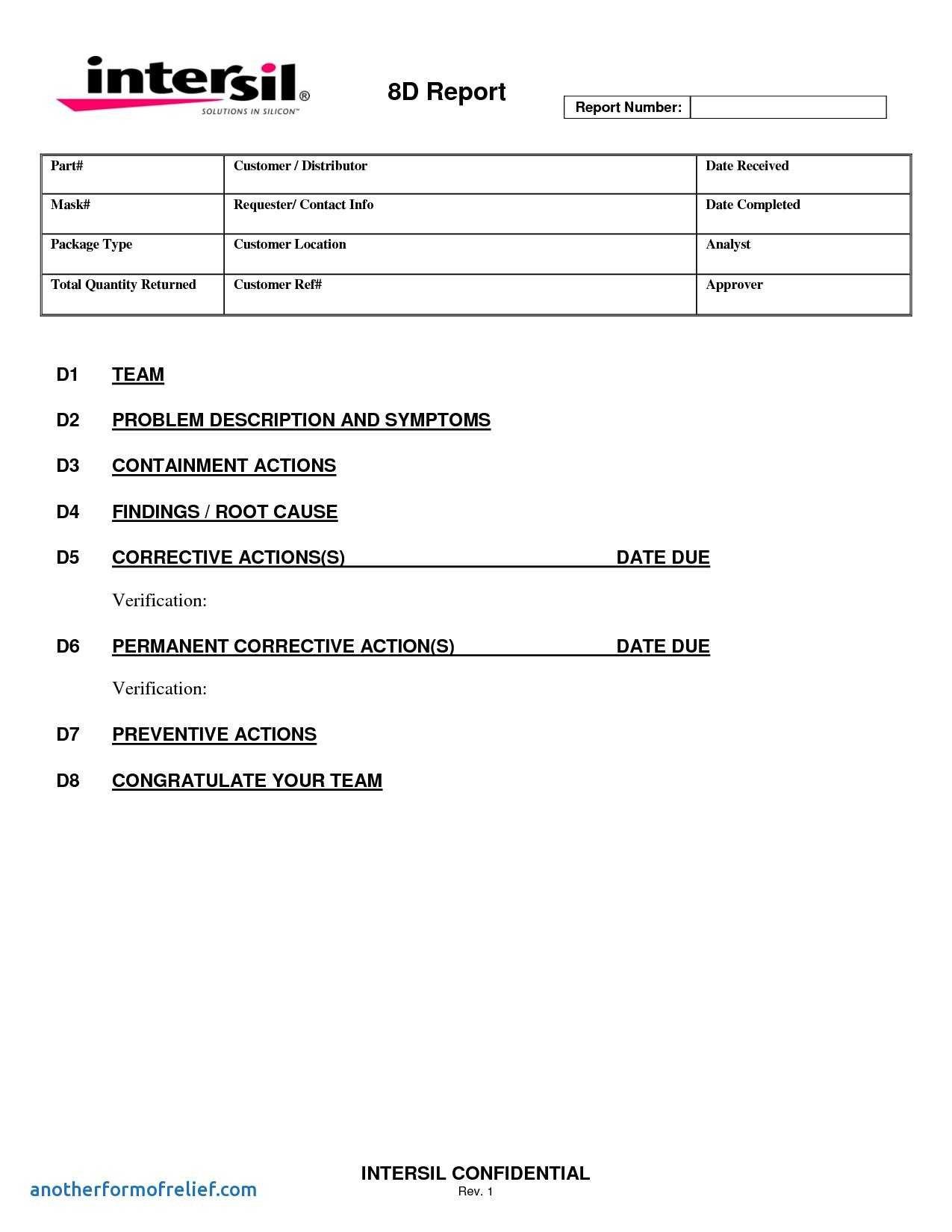 D Report Vorlage Best Of Gemütlich Analytical Report Template Throughout Analytical Report Template