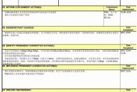 D Report Vorlage Sinnreich D Report Template Templates Station intended for 8D Report Format Template