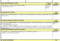 D Report Vorlage Sinnreich D Report Template Templates Station with regard to 8D Report Template