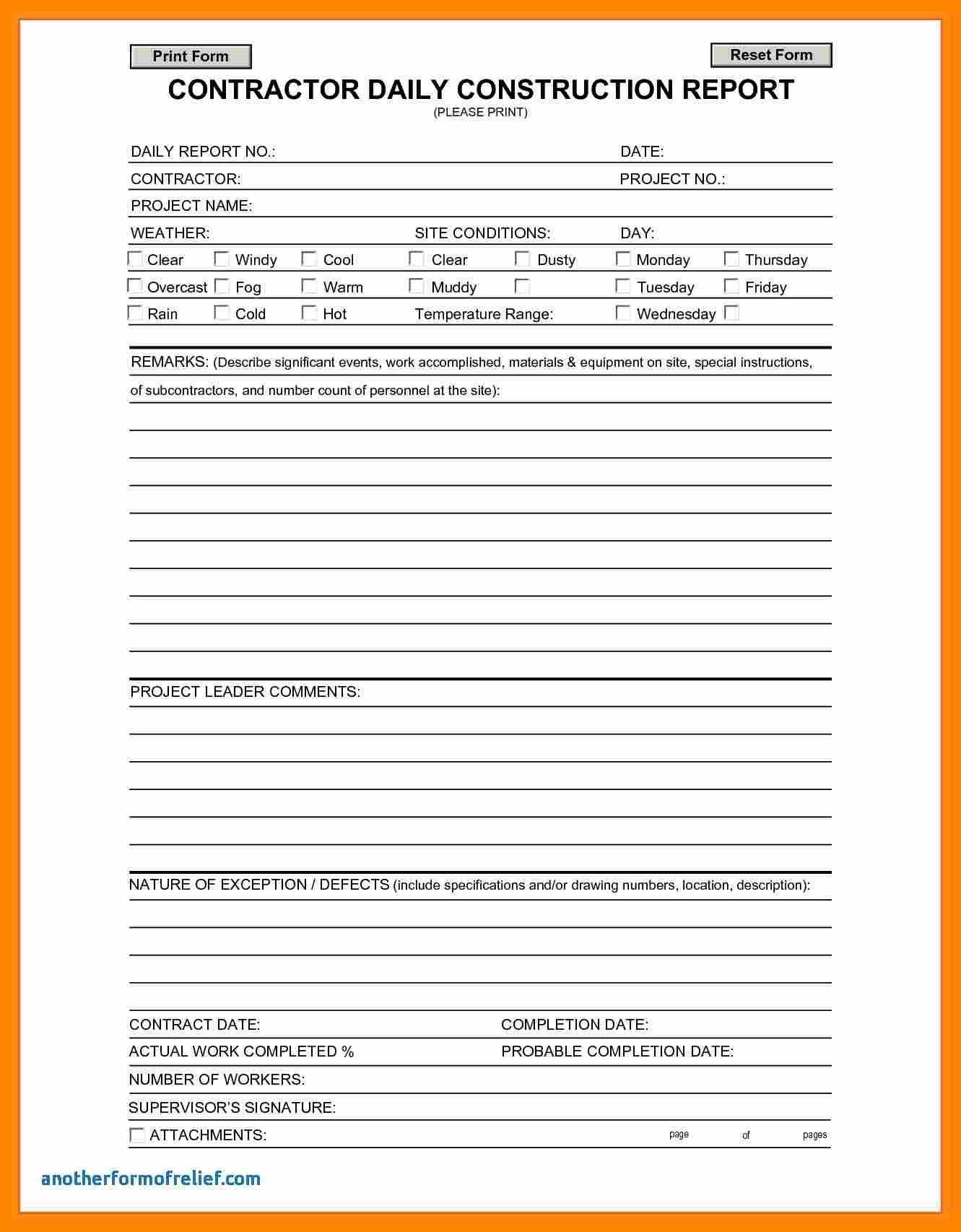Daily Reporting Format Template  Lobo Development Regarding Training Report Template Format