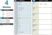 Daily Work Schedule inside Blank Scheme Of Work Template