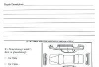 Damage Report Template – Wovensheetco for Car Damage Report Template