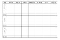 Day Meal Planner Template  Beachbody  Meal Planner Template throughout 7 Day Menu Planner Template