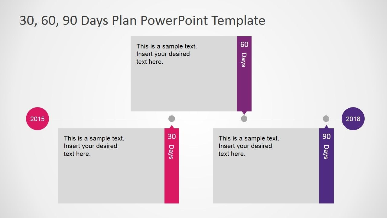 Days Plan Powerpoint Template  Web Tools   Day Plan For 30 60 90 Day Plan Template Powerpoint