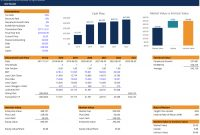 Dcf Model Template  Download Free Excel Template inside Business Valuation Template Xls